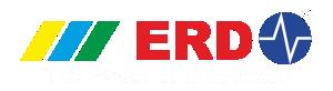 ERD Technologies India Global The Power of Innovation Logo white