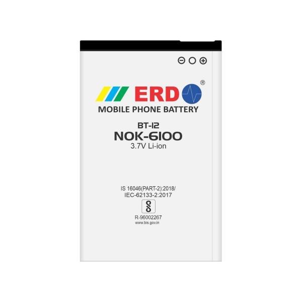 ERD Mobile Phone Battery for Nokia 6100 Mobile (BT-12)