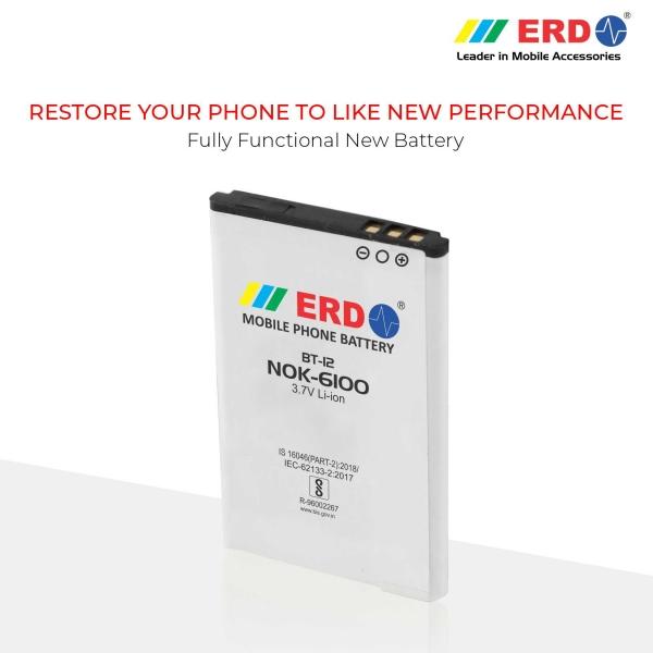ERD Mobile Phone Battery for Nokia 6100 Mobile (BT-12) 7