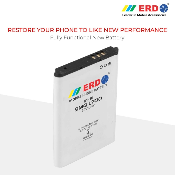 ERD BT-38 LI-ION Mobile Battery Compatible for Samsung L700 7