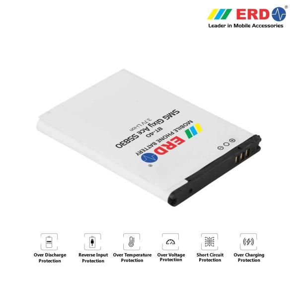 ERD BT-40 LI-ION Mobile Battery Compatible for Samsung S5830 2