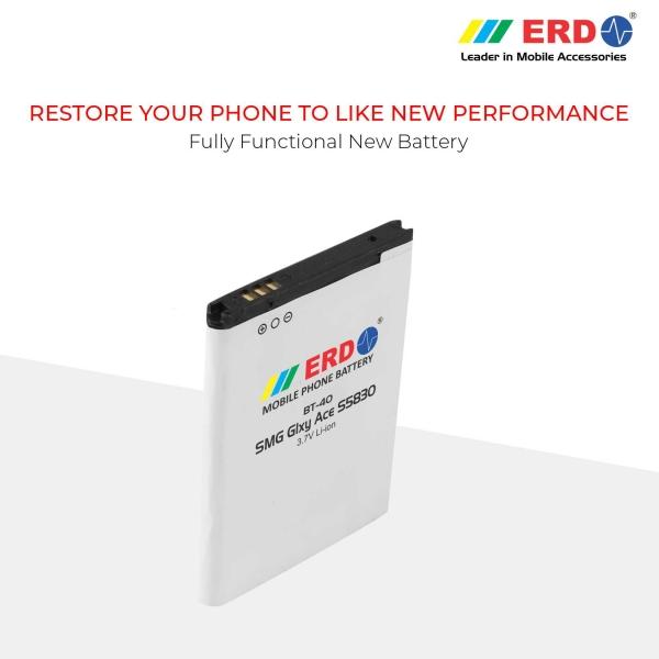 ERD BT-40 LI-ION Mobile Battery Compatible for Samsung S5830 7