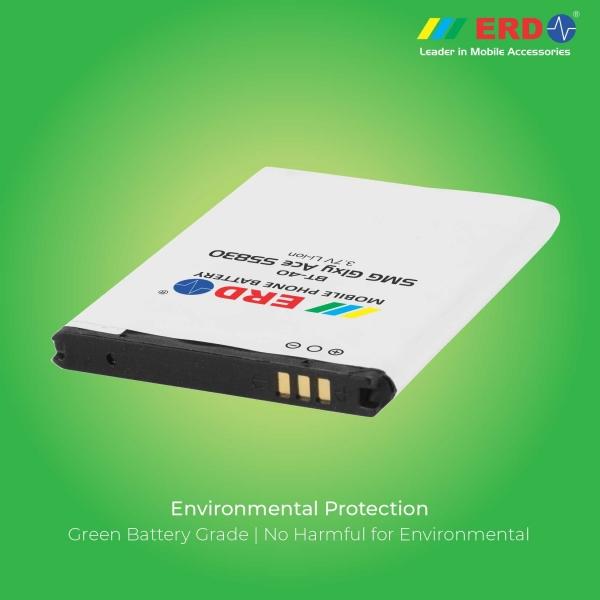 ERD BT-40 LI-ION Mobile Battery Compatible for Samsung S5830 5