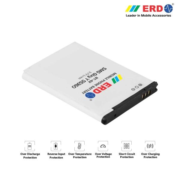 ERD BT-42 LI-ION Mobile Battery Compatible for Samsung S5360 2