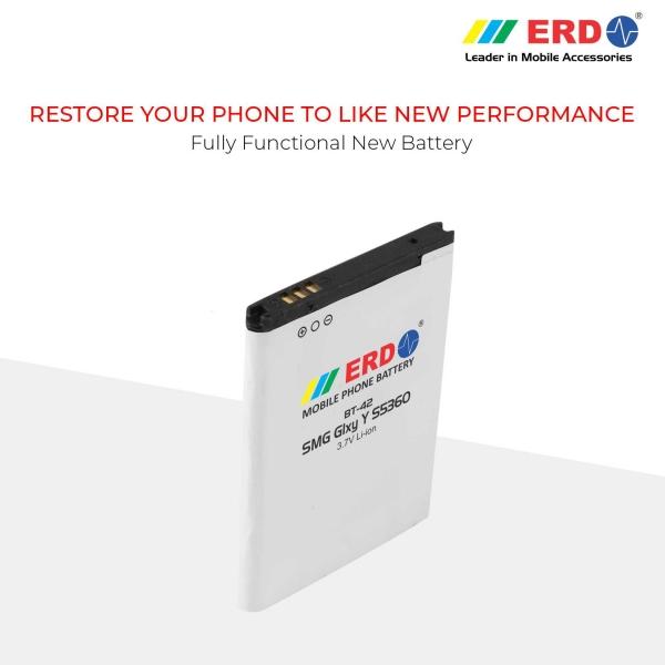 ERD BT-42 LI-ION Mobile Battery Compatible for Samsung S5360 7