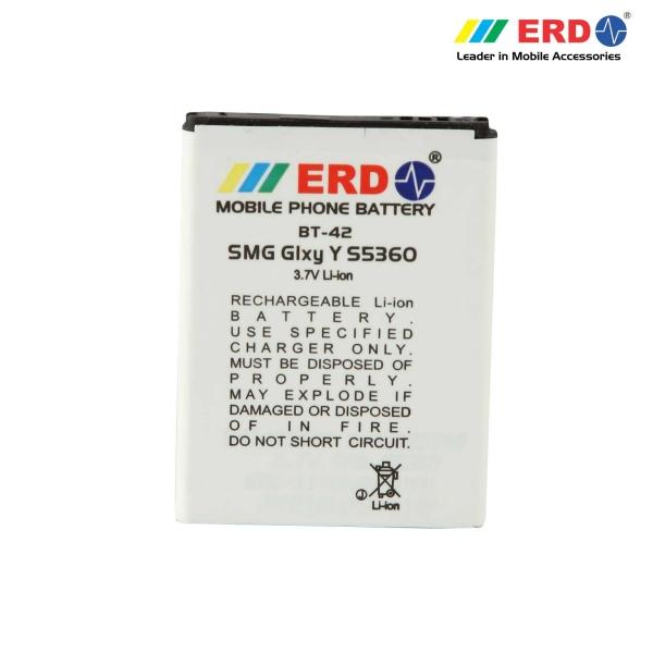 ERD BT-42 LI-ION Mobile Battery Compatible for Samsung S5360 6