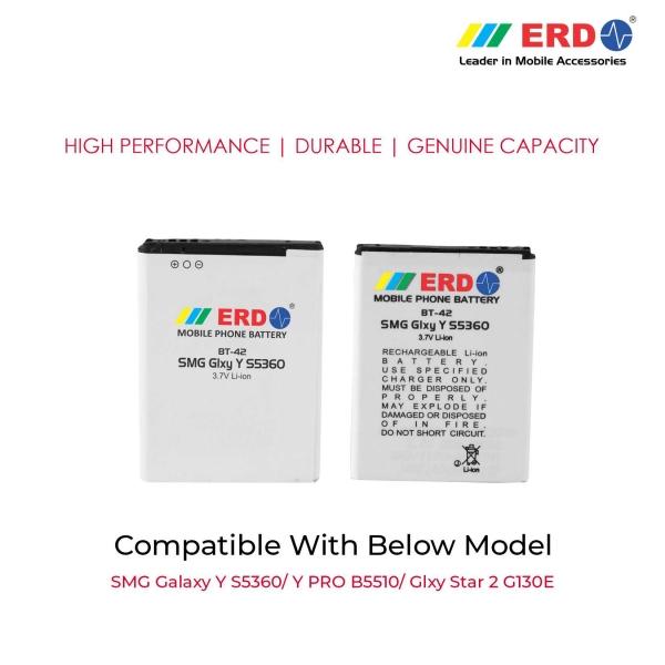 ERD BT-42 LI-ION Mobile Battery Compatible for Samsung S5360 3