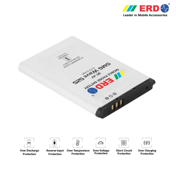 ERD BT-47 LI-ION Mobile Battery Compatible for Samsung W525 2