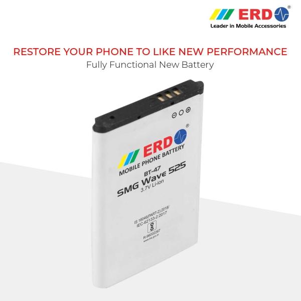 ERD BT-47 LI-ION Mobile Battery Compatible for Samsung W525 7