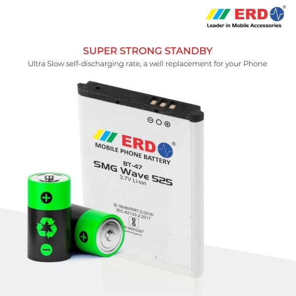 ERD BT-47 LI-ION Mobile Battery Compatible for Samsung W525 4