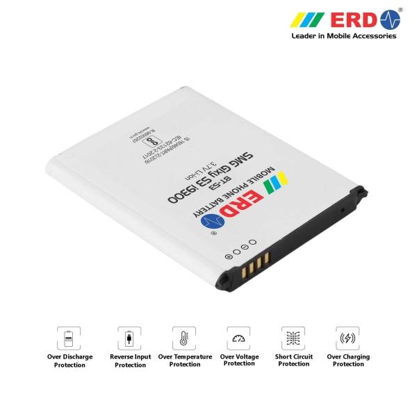 ERD BT-53 LI-ION Mobile Battery Compatible for Samsung i9300 2