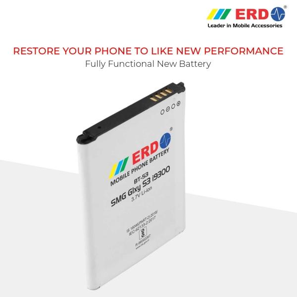 ERD BT-53 LI-ION Mobile Battery Compatible for Samsung i9300 7