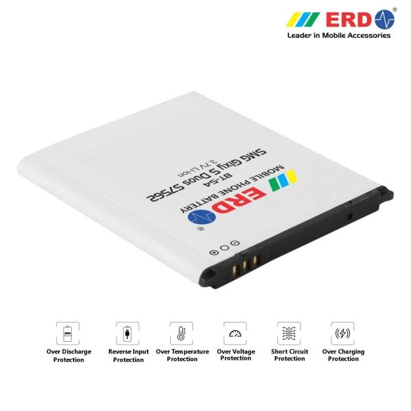 ERD BT-54 LI-ION Mobile Battery Compatible for Samsung S7562 2