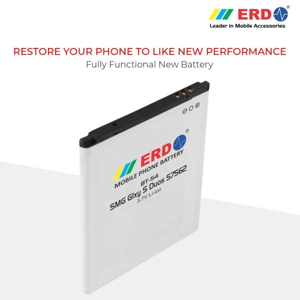 ERD BT-54 LI-ION Mobile Battery Compatible for Samsung S7562 7