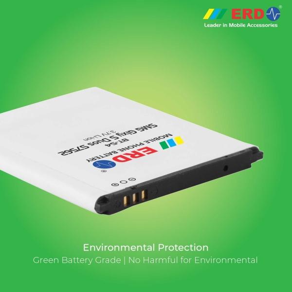 ERD BT-54 LI-ION Mobile Battery Compatible for Samsung S7562 5