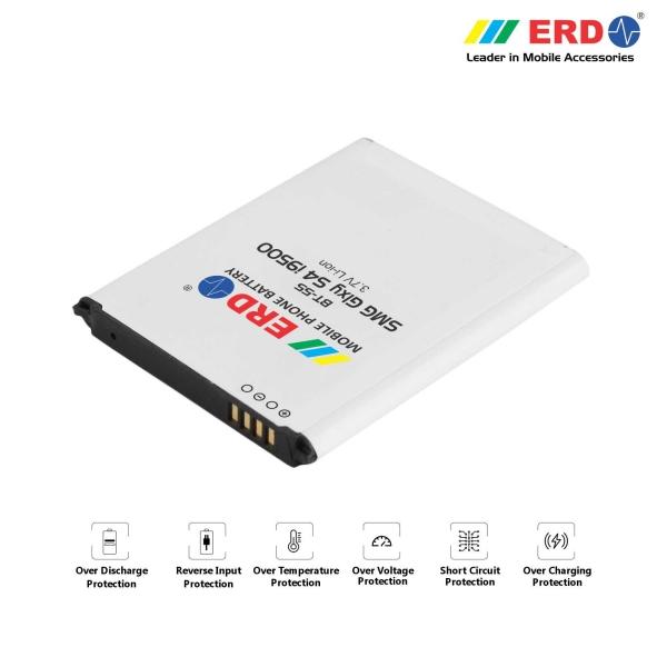ERD BT-55 LI-ION Mobile Battery Compatible for Samsung i9500 2