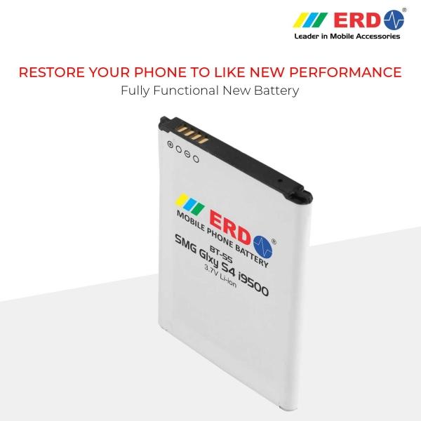 ERD BT-55 LI-ION Mobile Battery Compatible for Samsung i9500 7
