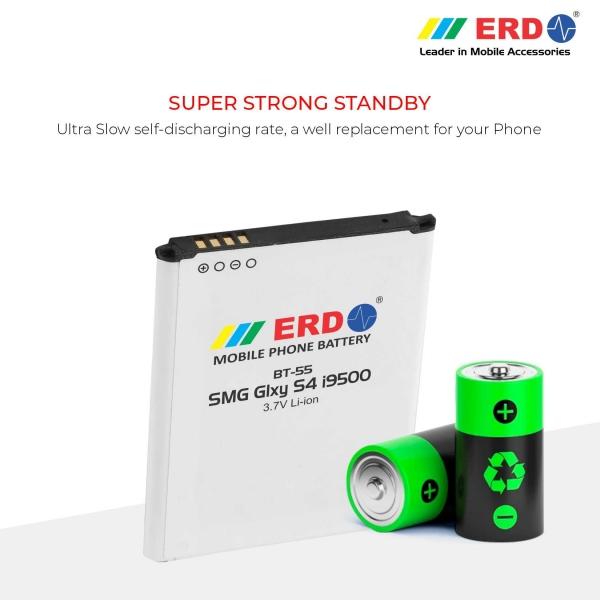 ERD BT-55 LI-ION Mobile Battery Compatible for Samsung i9500 4