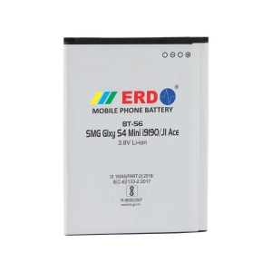 ERD BT-56 LI-ION Mobile Battery Compatible for Samsung S 4 Mini