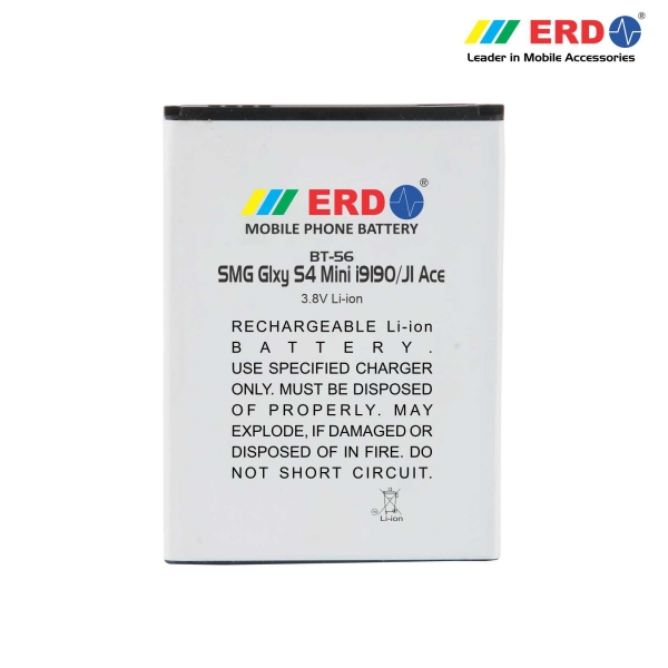 ERD BT-56 LI-ION Mobile Battery Compatible for Samsung S 4 Mini 6