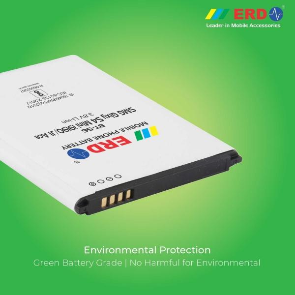 ERD BT-56 LI-ION Mobile Battery Compatible for Samsung S 4 Mini 5