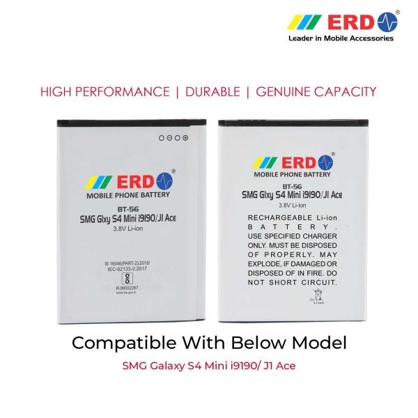 ERD BT-56 LI-ION Mobile Battery Compatible for Samsung S 4 Mini 3