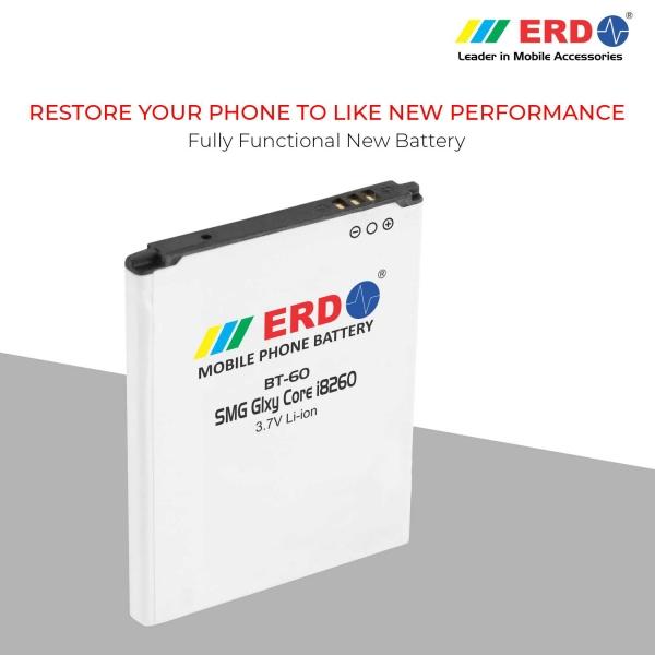 ERD BT-60 LI-ION Mobile Battery Compatible for Samsung i8260 7