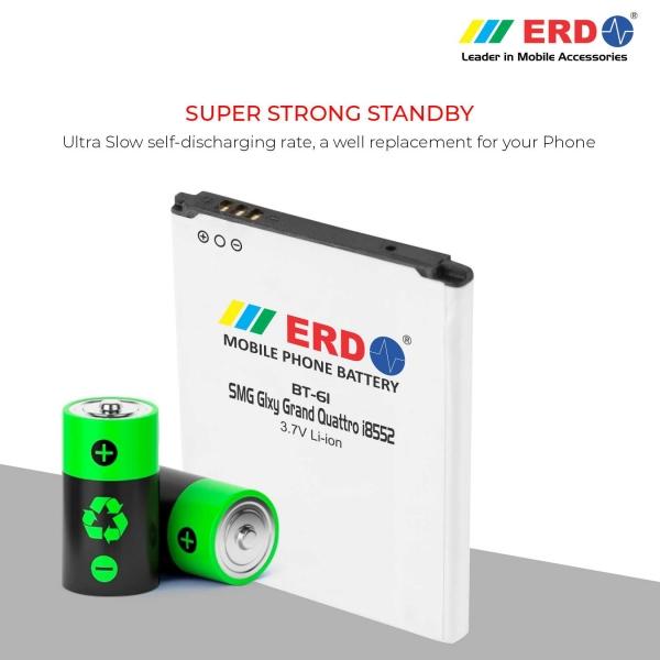ERD BT-61 LI-ION Mobile Battery Compatible for Samsung i8552 4
