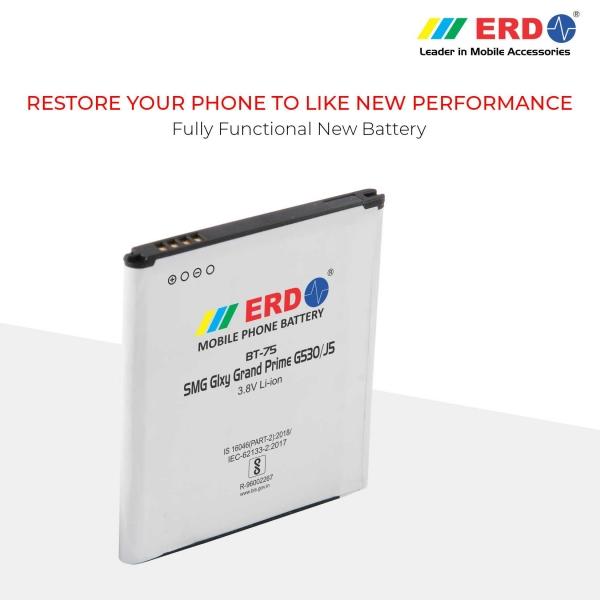 ERD BT-75 LI-ION Mobile Battery Compatible for Samsung G530 7