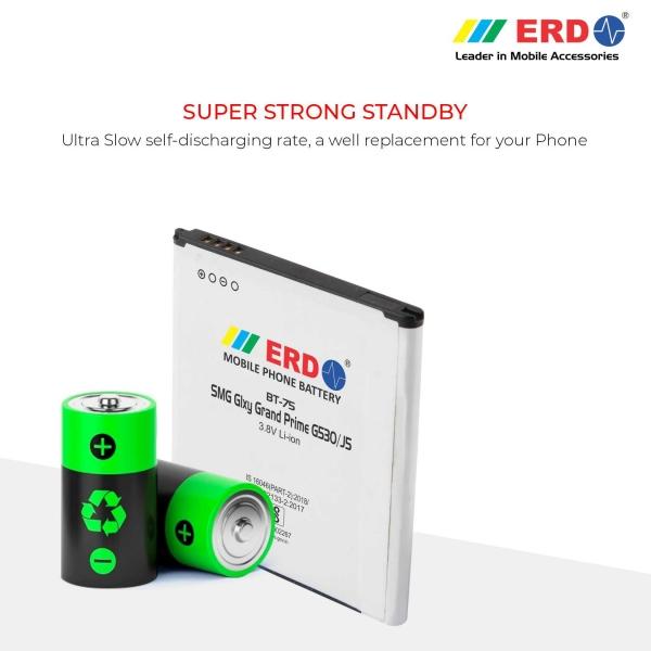 ERD BT-75 LI-ION Mobile Battery Compatible for Samsung G530 4