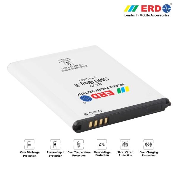 ERD BT-77 LI-ION Mobile Battery Compatible for Samsung J1 2