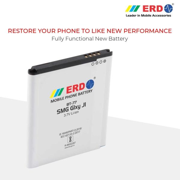 ERD BT-77 LI-ION Mobile Battery Compatible for Samsung J1 7