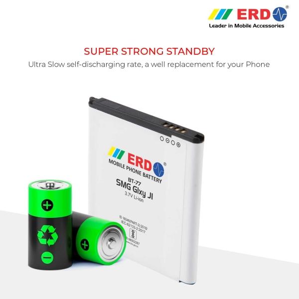 ERD BT-77 LI-ION Mobile Battery Compatible for Samsung J1 4