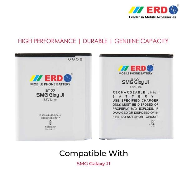 ERD BT-77 LI-ION Mobile Battery Compatible for Samsung J1 3