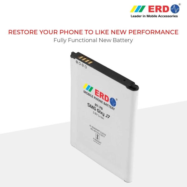 ERD BT-78 LI-ION Mobile Battery Compatible for Samsung J7 7