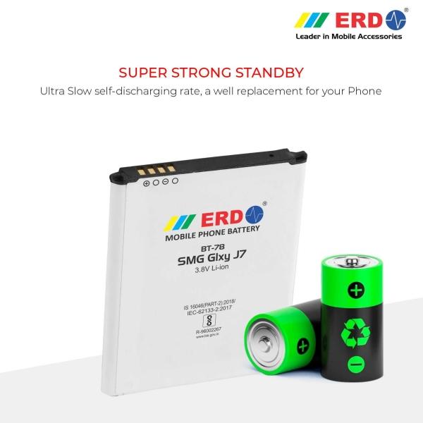 ERD BT-78 LI-ION Mobile Battery Compatible for Samsung J7 4