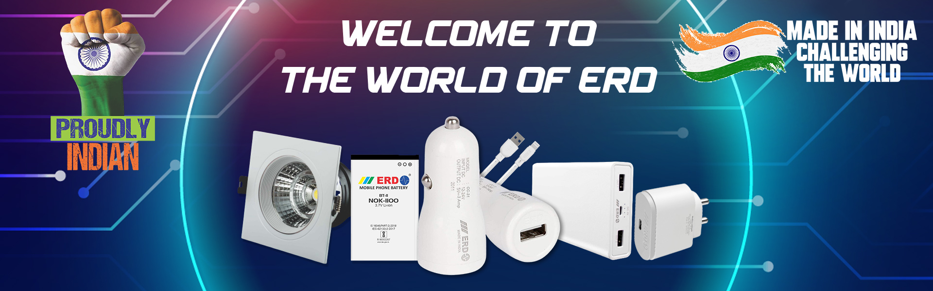 Welcome to ERD Proudly Indian Made in India Challenging The World